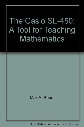 9781878532053: The Casio SL-450: A Tool for Teaching Mathematics