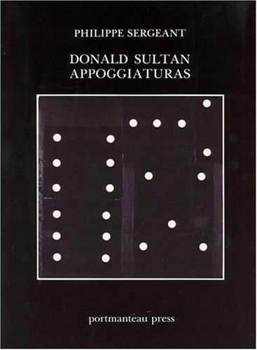 Donald Sultan: Appoggiaturas (1878552007) by Philippe Sergeant