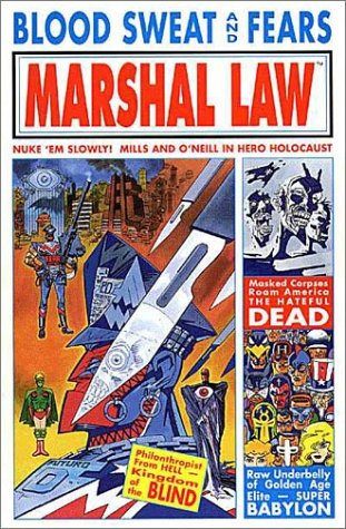 9781878574954: Marshal Law: Blood, Sweat, and Fears