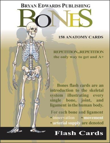 9781878576019: The Bones (Flash Cards)