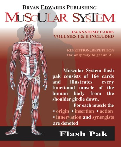 The Muscular System (Flash Paks/Volumes 1 and: Anatomy, Flash
