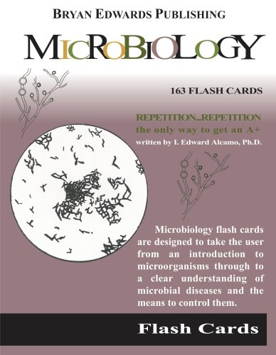 9781878576101: Microbiology (Flash Cards)