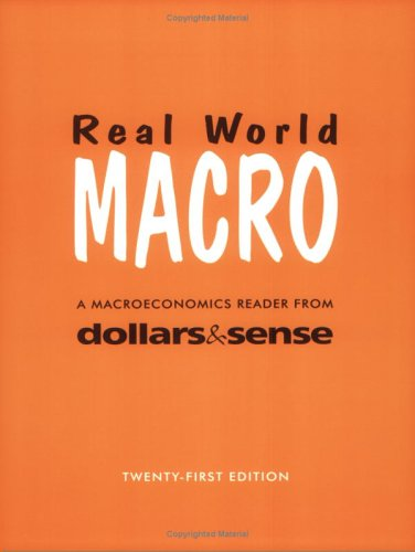 9781878585462: Real World Macro, 21st Edition