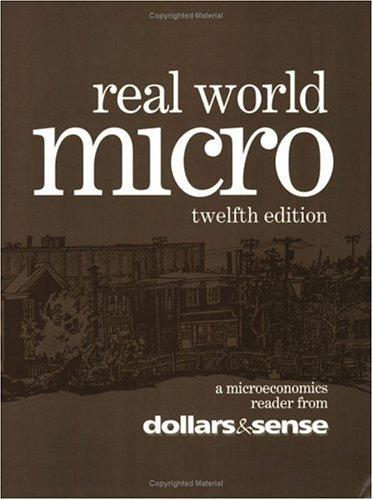 9781878585493: Real World Micro, 12th Edition