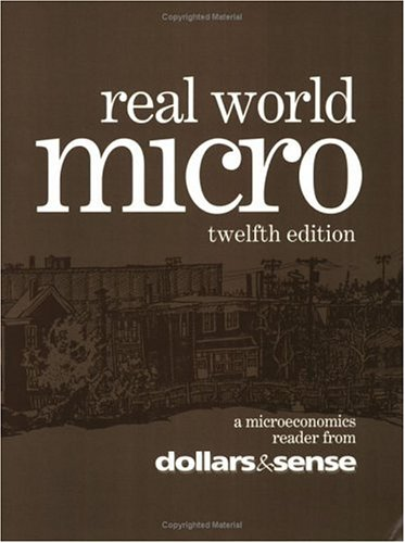 9781878585493: Real World Micro, 12th Edition