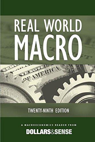 9781878585899: Real World Macro: A Macroeconomics Reader from Dollars & Sense, 29th Edition