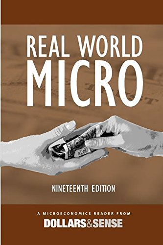 9781878585929: Real World Micro: A Microeconomics Reader from Dollars & Sense, 19th edition