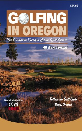 9781878591692: Golfing in Oregon