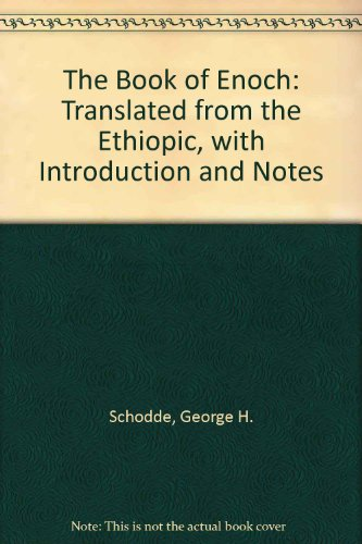 9781878592101: Book of Enoch: Translated from the Ethiopic, With Introduction and Notes