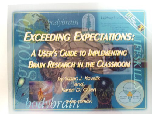 9781878631985: Exceeding Expectaions : A User's Guide to Implementing Brain Research in the Classroom