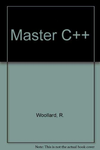 9781878739070: The Waite Group's Master C++: Let the PC Teach You Object-Oriented Programming