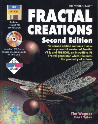 9781878739346: Fractal Creations/Book, Cd-Rom, Disk and 3-D Glasses