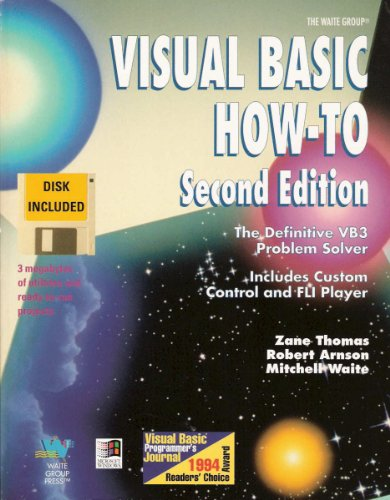 9781878739421: Visual Basic How-To: The Definitive Vb3 Problem Solver/Book and Disk