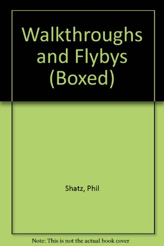9781878739711: Walkthroughs and Flybys (Boxed)