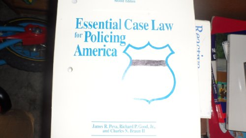 9781878760067: Essential Case Law for Policing America