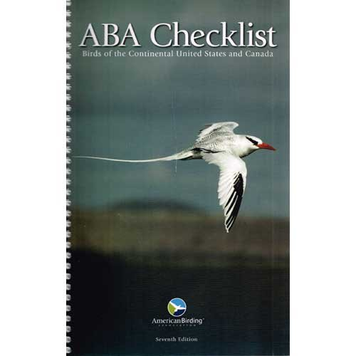 9781878788344: ABA Checklist: Birds of the Continental United States and Canada