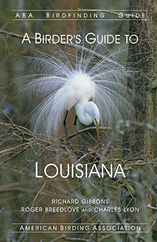 ABA Birdfinding Guide: A Birders Guide to Louisiana
