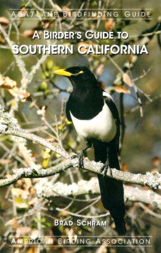 A Birder's Guide to Southern California (ABA/Lane Birdfinding Guide): Brad Schram