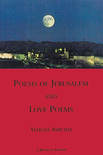 9781878818195: Poems of Jerusalem and Love Poems: A Bilinggual Edition (Sheep Meadow Poetry)