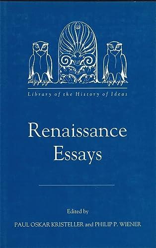 renaissance essays by kristeller paul oskar wiener philip p  renaissance essays kristeller paul oskar wiener