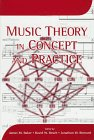 9781878822796: Music Theory in Concept and Practice (Eastman Studies in Music)