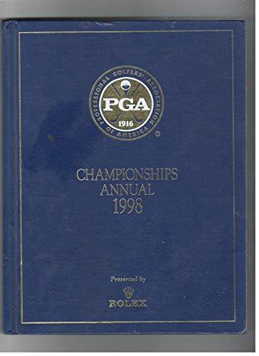 9781878843234: PGA Championships Annual 1998