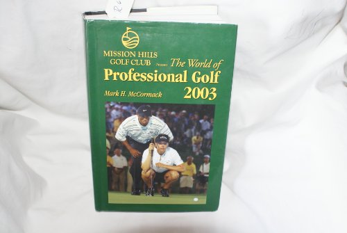 9781878843371: World Of Professional Golf 2003