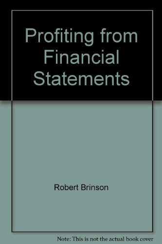 9781878870025: Profiting from Financial Statements