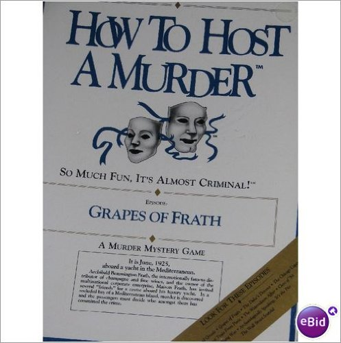 9781878875051: How to Host a Murder: Grapes of Frath/Game