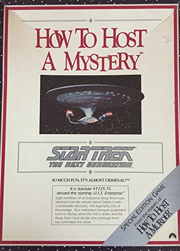 9781878875891: How to Host a Mystery: Star Trek the Next Generation/Game