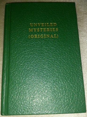 9781878891020: Unveiled Mysteries (Original)