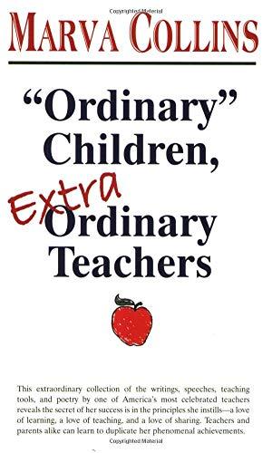 9781878901415: Ordinary Children, Extraordinary Teachers