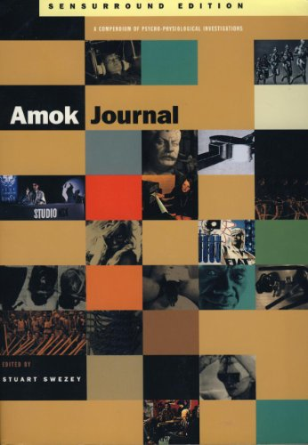 9781878923035: Amok Journal Sensurround Edition: A Compendium of Physio-Psychological Investigations