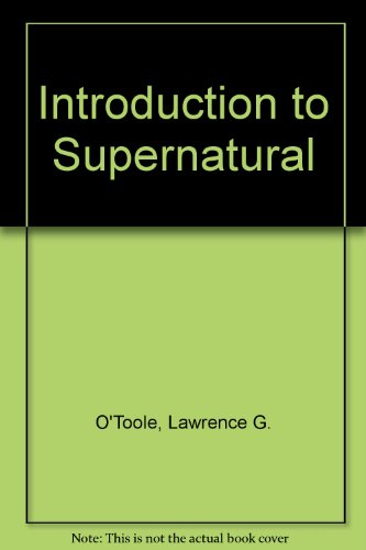 9781878960054: Introduction to Supernatural