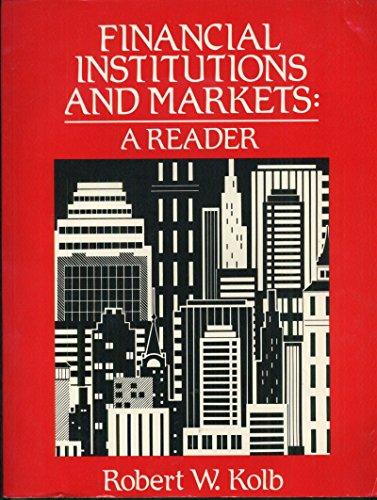 9781878975027: Title: Financial Institutions and Markets A Reader