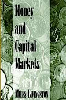 9781878975157: Money and Capital Markets