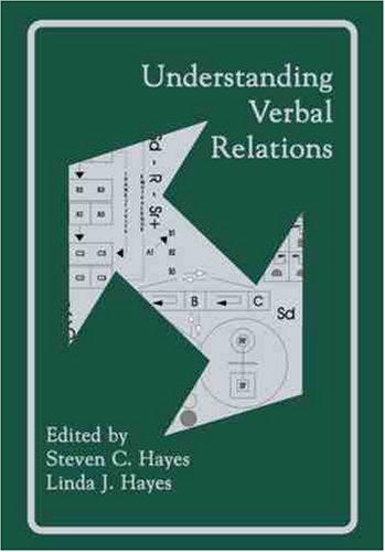 9781878978011: Understanding Verbal Relations (International Institute on Verbal Relations)