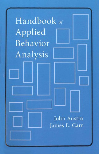 9781878978349: Handbook of Applied Behavior Analysis
