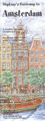 9781878979506: MapEasy's Guidemap to Amsterdam