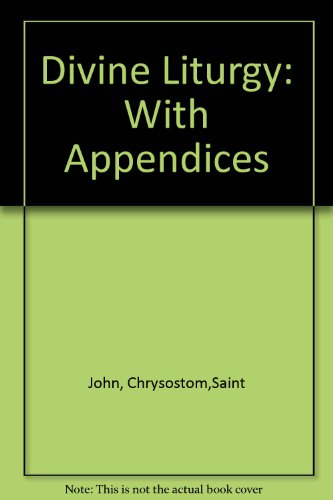 9781878997173: Divine Liturgy: With Appendices