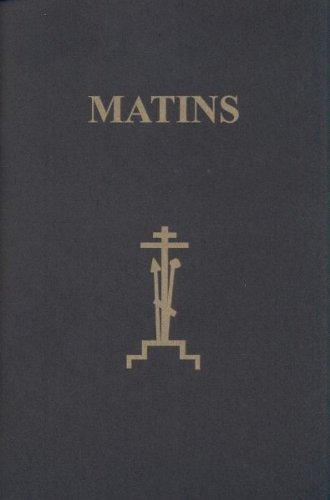9781878997425: Matins