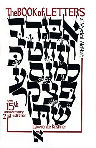 9781879045002: The Book of Letters: A Mystical Hebrew Alphabet (Kushner)