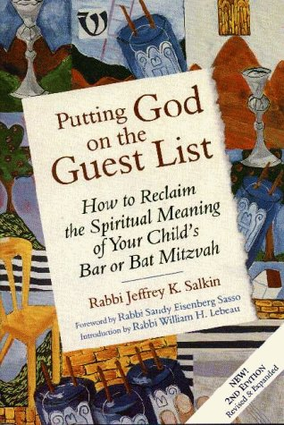 9781879045583: Putting God on the Guest List: How to Reclaim the Spiritual Meaning of Your Child's Bar or Bat Mitzvah