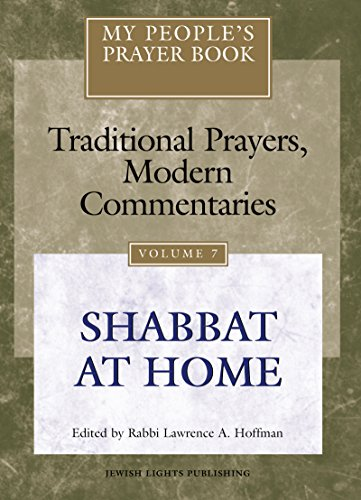 My People's Prayer Book, Vol. 7: Traditional: Rabbi Lawrence A.