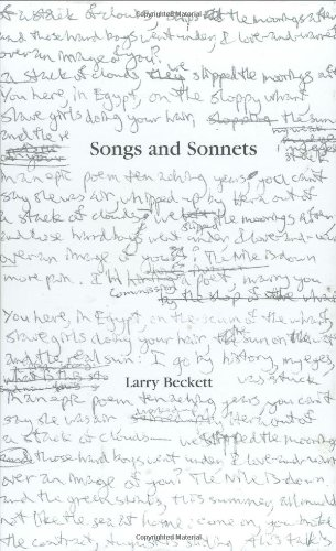 9781879082144: Songs and Sonnets
