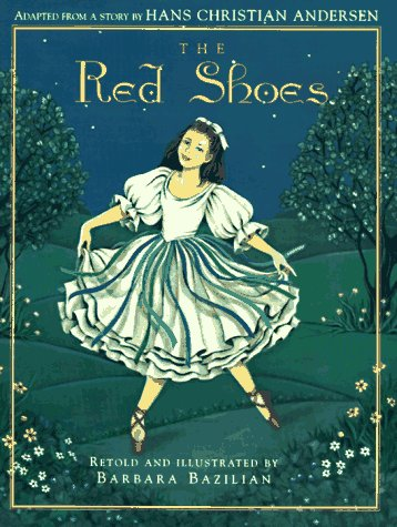 The Red Shoes 9781879085565 Have you ever wished for something so hard that you could think of nothing else? When Karen becomes entranced by a pair of beautiful red dancing shoes in a shop window, they fill her every thought and dream. One fateful day, she is able to buy the shoes for herself, only to learn later, as the shopkeeper tells her, to  be careful what you wish for, because it may come true.  The enthralling presentation of this Hans Christian Andersen classic will win readers over with its luminous illustrations and engaging text, and will remind them of the lessons of life and love.