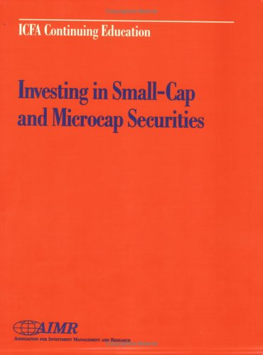 Investing in Small-Cap and Microcap Securities: Claudia E. Mott,