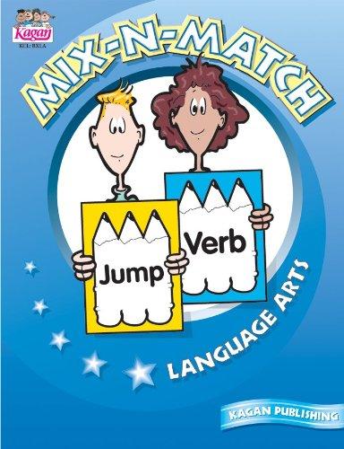 9781879097704: Mix-N-Match Book: Language Arts, Grades 3-6
