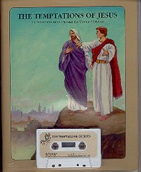The Temptations of Jesus (The Temptations of Jesus An Illustrated Bible Passage for Young Children)...