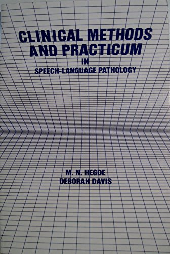 9781879105423: Clinical Methods and Practicum in Speech-Language Pathology